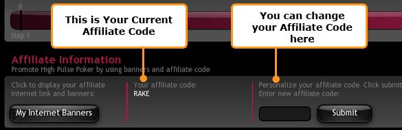 High Pulse Poker Affiliate Code